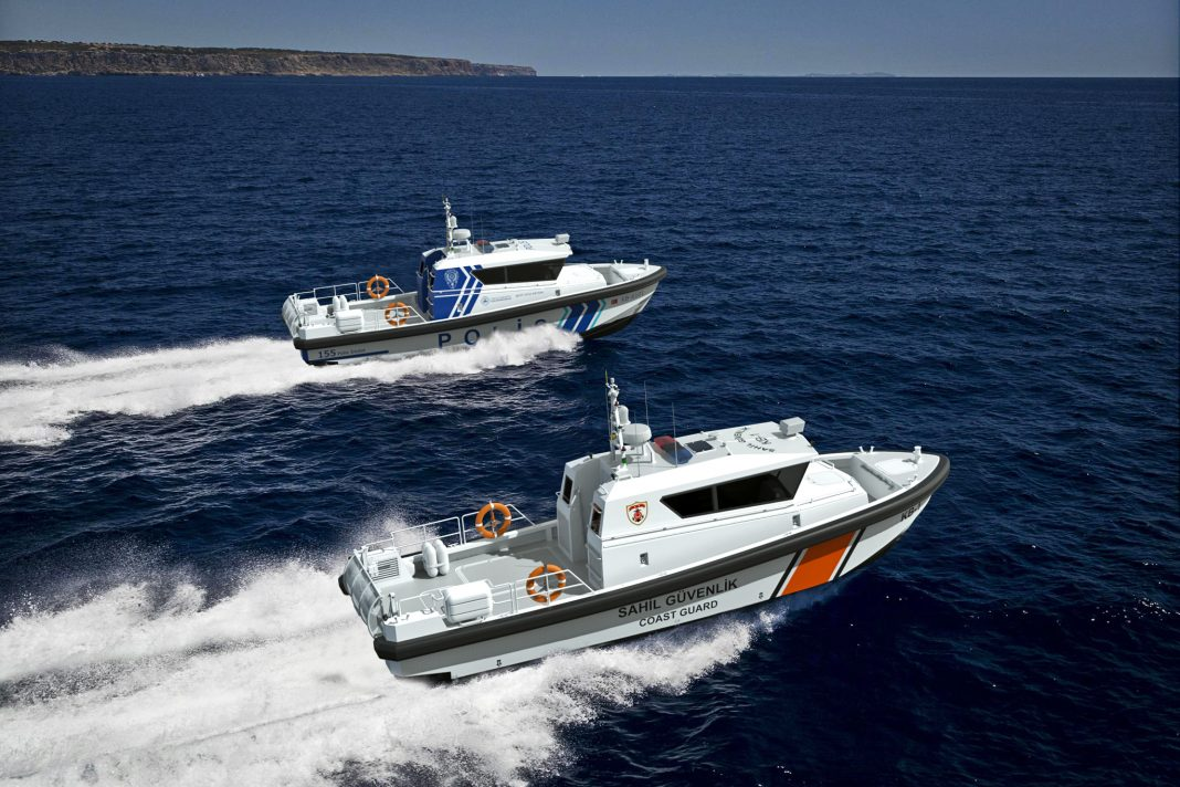 ARES Shipyard will produce 122 boats for the Coast Guard.