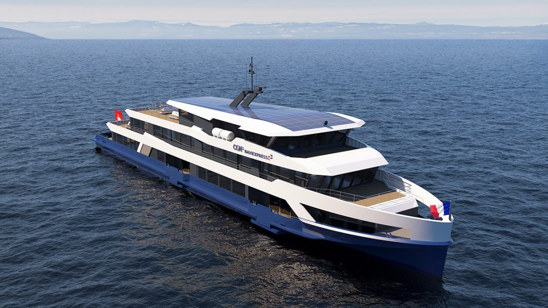 Two VLJs and four VITs power each of the new ferries. Picture: Omega Architects B.V.