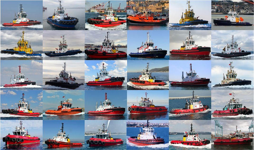 Sanmar Shipyards has reported a record year of all times of delivery of 30 tugs during 2020