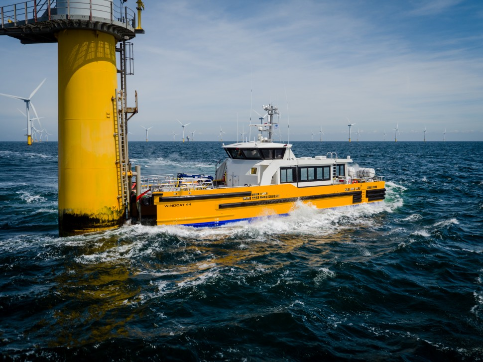 SEACOR Marine & CMB announce transaction for windfarm support business