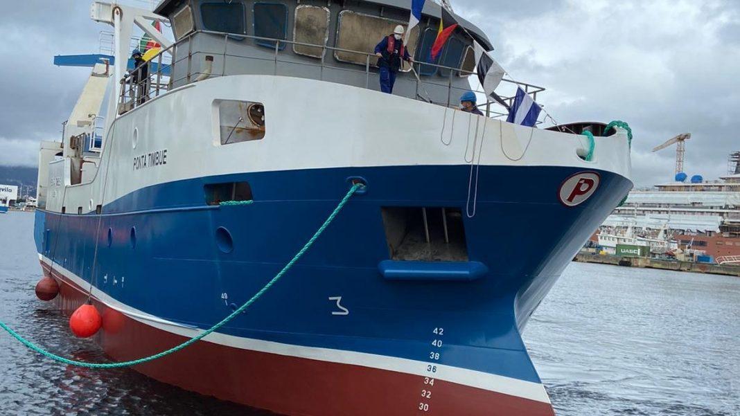 "Nueva Pescanova Group launches the ""Ponta Timbué"""