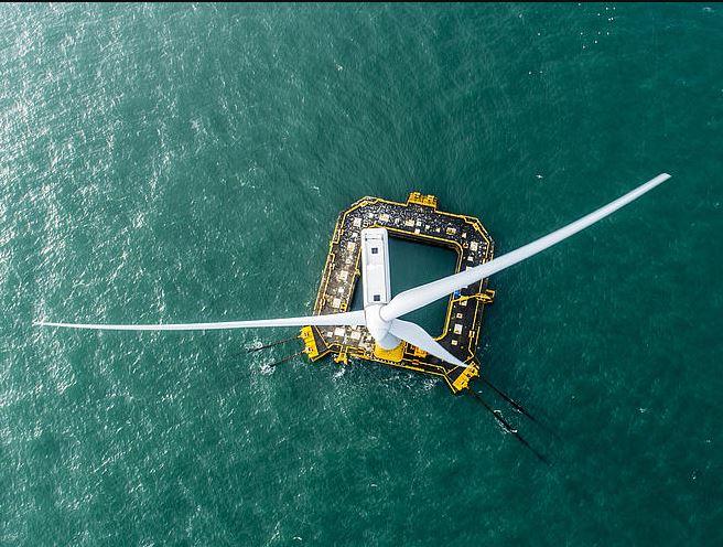Floatgen, the 2 MW floating wind turbine,