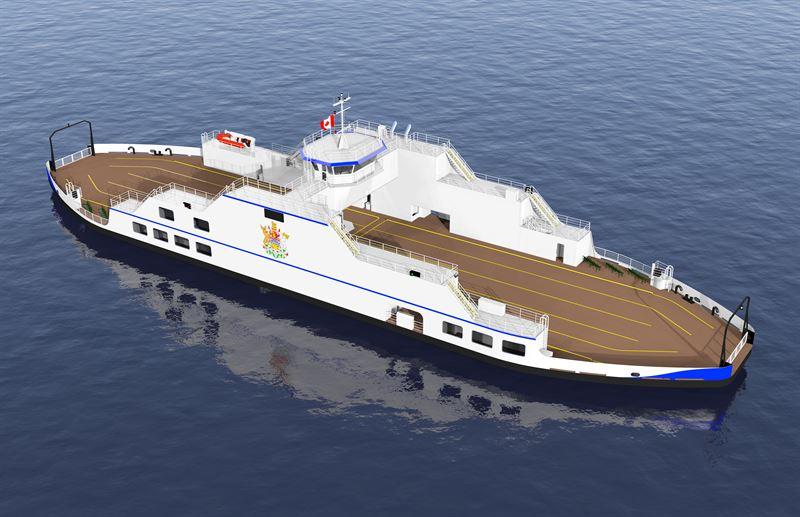 Wärtsilä Hybrid Solution will minimise carbon footprint for new Canadian ferry