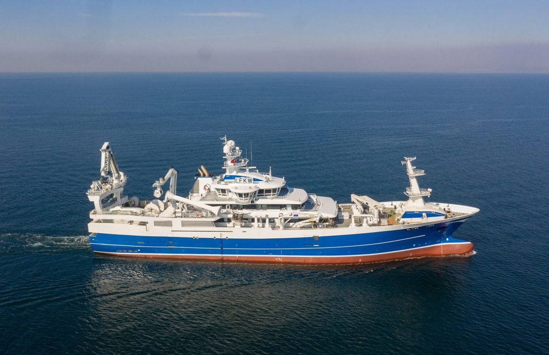 Purse Seiner Trawler NB64 Libas is Delivered